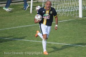 Sport - Calcio - Daniele Nohman con la maglia della Viterbese