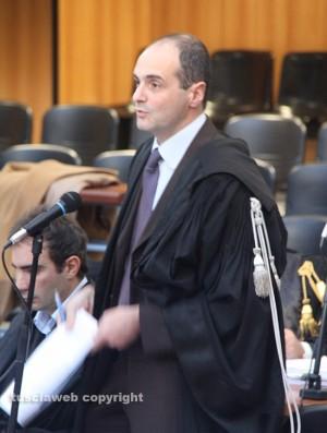 Il pm Stefano D'Arma