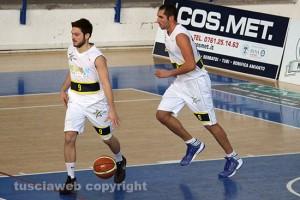 Sport - Basket - Stella azzurra - Marco Giancarli e Valerio Marsili