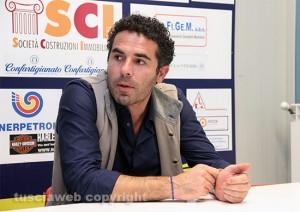 Sport - Calcio - Viterbese - Il presidente Vincenzo Camilli