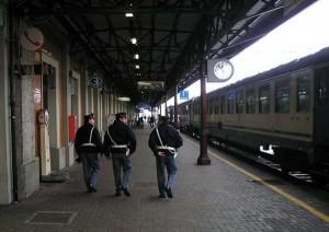 La polfer in stazione
