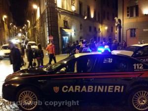 Viterbo - I carabinieri nel centro storico - Foto di repertorio