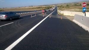 Tarquinia - I lavori sull'autostrada Tirrenica