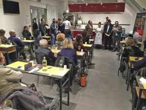 Piacere etrusco - Show cooking