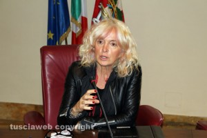 La presidente Cotral Amalia Colaceci