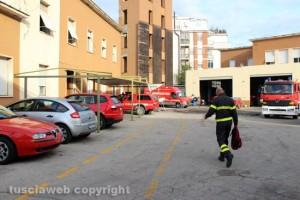 Viterbo - La caserma dei Vigili del fuoco