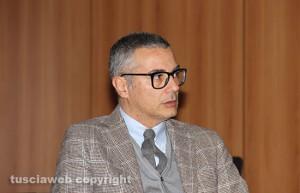 Il presidente dell'Ordine degli avvocati di Viterbo Luigi Sini