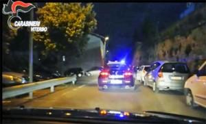 Viterbo - Carabinieri in azione