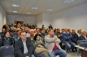 Il pubblico alla conferenza al Chiarone
