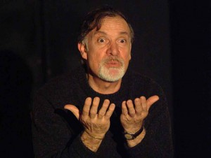 L'attore e regista Gianni Abbate