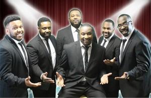 La formazione Cedric Shannon Rives & Brothers in Gospel