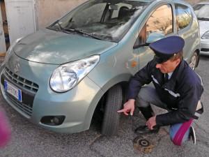 Pneumatici, controlli della polstrada