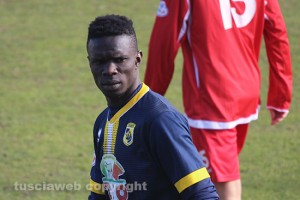 Sport - Calcio - Viterbese - Mbaye Khalifa Babacar durante il match contro l'Orvietana