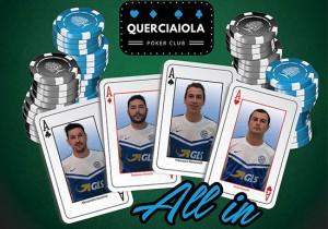 """Sport - Calcio - Il mazzo di carte """"Querciaiola poker club"""""""