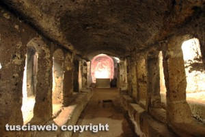 Sutri - Anfiteatro - Il mitreo