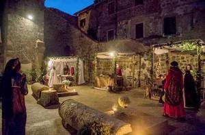 Il primo presepe vivente a Ronciglione