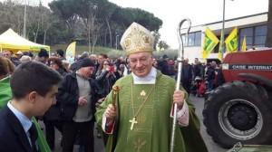 Roma - Il vescovo Fumagalli alla Giornata del ringraziamento Coldiretti