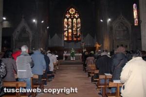 Viterbo bombardata - Basilica di san Francesco
