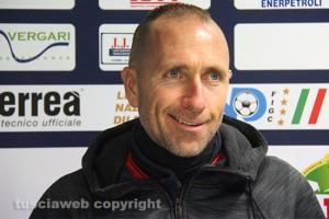 Sport - Calcio - Viterbese - L'allenatore Federico Nofri