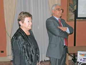 Eugenio Susi con Rosetta Virtuoso del Touring Club