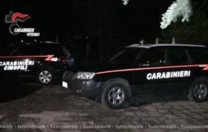I carabinieri in azione