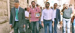 La visita di Matteo Salvini a Orte
