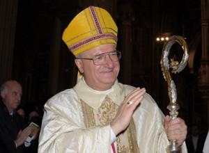Il vescovo Romano Rossi
