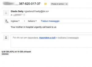 Truffe online, la nuova email che colpisce agli affetti