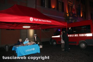 Viterbo - La Befana 115 - Lo stand dell'Unicef