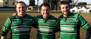 Sport - Rugby - Union Viterbo - Andrea, Roberto e Moreno Menghini