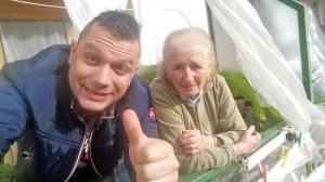 Valentino Galantuomo e la nonna