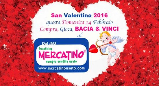 Questo san valentino gioca bacia vinci 100 euro for Mercatino usato viterbo
