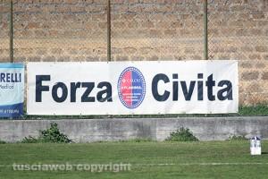 Sport - Calcio - Flaminia - Un particolare dello stadio Madami di Civita Castellana