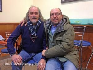 Viterbo - Sergio Insogna e Chicco Moltoni