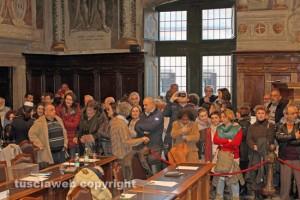 Viterbo - Il comitato Non ce la beviamo in consiglio comunale