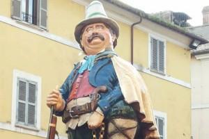 Civita Castellana - Il fantoccio del Puccio