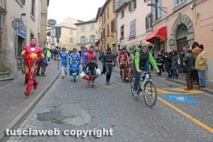 Viterbo - Carnevale - Corsa delle carriole