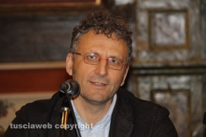 Viterbo - L'assessore Massimiliano Smeriglio all'Unitus