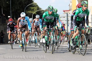 Sport - Ciclismo - Il passaggio della Tirreno-Adriatico 2016 a Viterbo