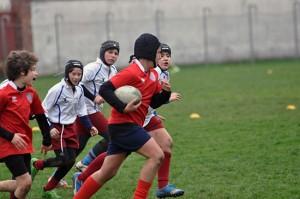 Sport - Amatori rugby - I ragazzi dell'Under 12