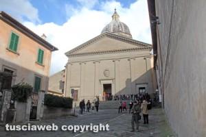 Viterbo - Il santuario di santa Rosa