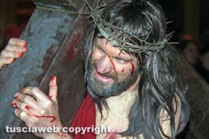 Bagnaia - La processione del Cristo morto
