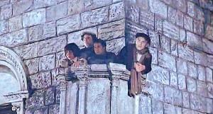 Roma - Amarcord - La riproduzione del pulpito di san Tommaso della chiesa di santa Maria nuova