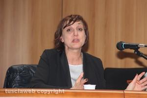 La direttricL'ex direttrice del carcere di Viterbo Teresa Mascoloe del carcere di Viterbo Teresa Mascolo