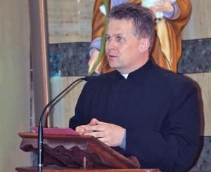 Piotr Burek, rettore del santuario Maria SS ad Rupes