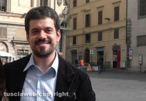 Il ricercatore David Crescenzi