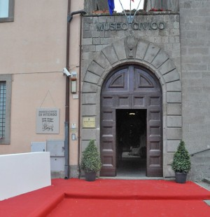 Viterbo - Ingresso museo civico