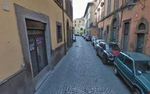 Viterbo - Via Cardinal La Fontaine