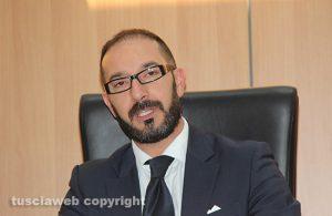 Il presidente della camera penale di Viterbo Mirko Bandiera