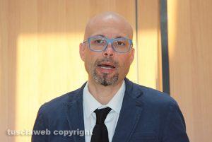 Il vicepresidente della camera penale di Viterbo Marco Valerio Mazzatosta